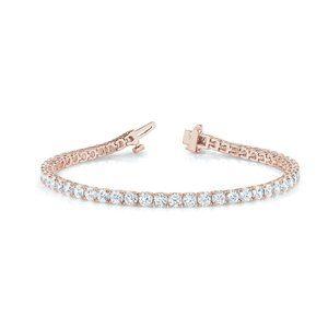 Jewelry - 8.50 Carats  cut sparkling diamonds Tennis bracele